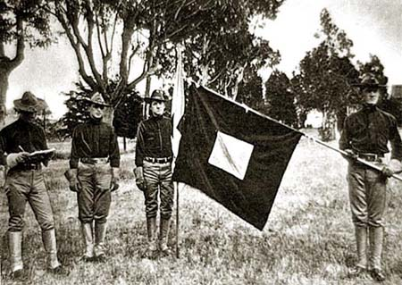 Spanish American War Flag Exercise
