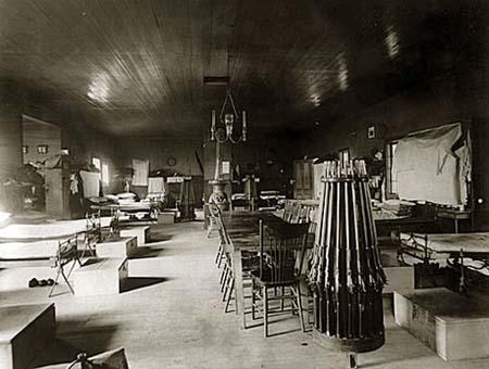 Inside Barracks Civil War Era