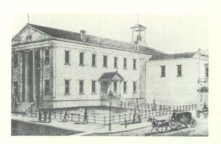 State Capitol/City Hall during the Civil War