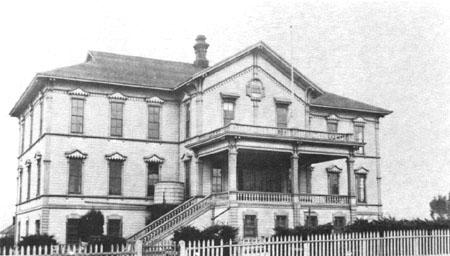 Benicia Grammar School c. 1890