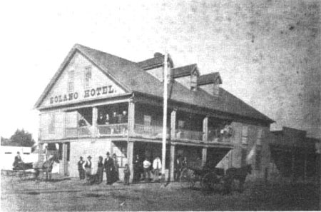 Solano Hotel c. 1860's