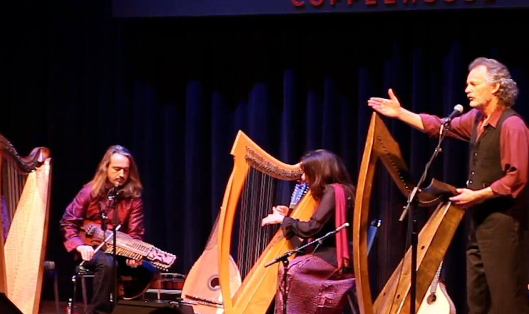 """Legends of the Celtic Harp presents """"A Winter Gift"""""""