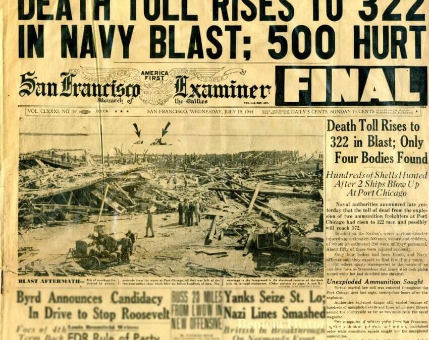 Today in History: July 17 – Port Chicago Disaster
